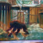 Privacy 1, Öl/ Baumwolle, 2015, 30 x 50