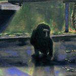 Privacy 3, Öl/ Baumwolle, 2015, 30 x 50