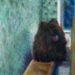 Privacy 2, Öl/ Baumwolle, 2015, 30 x 50