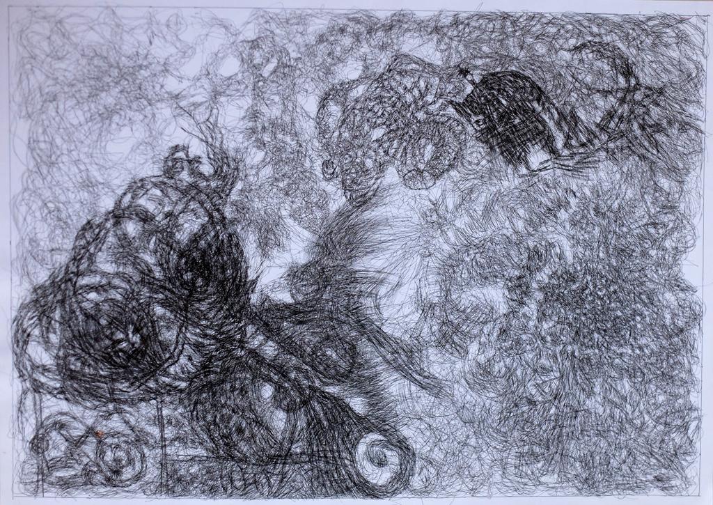 Escapaden, Zeichnung