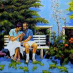 Garten, Paar, Liebe, Maria und Meinolf